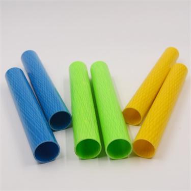 High strengthness Fiberglass pul-braided Tubing  FRP pipe