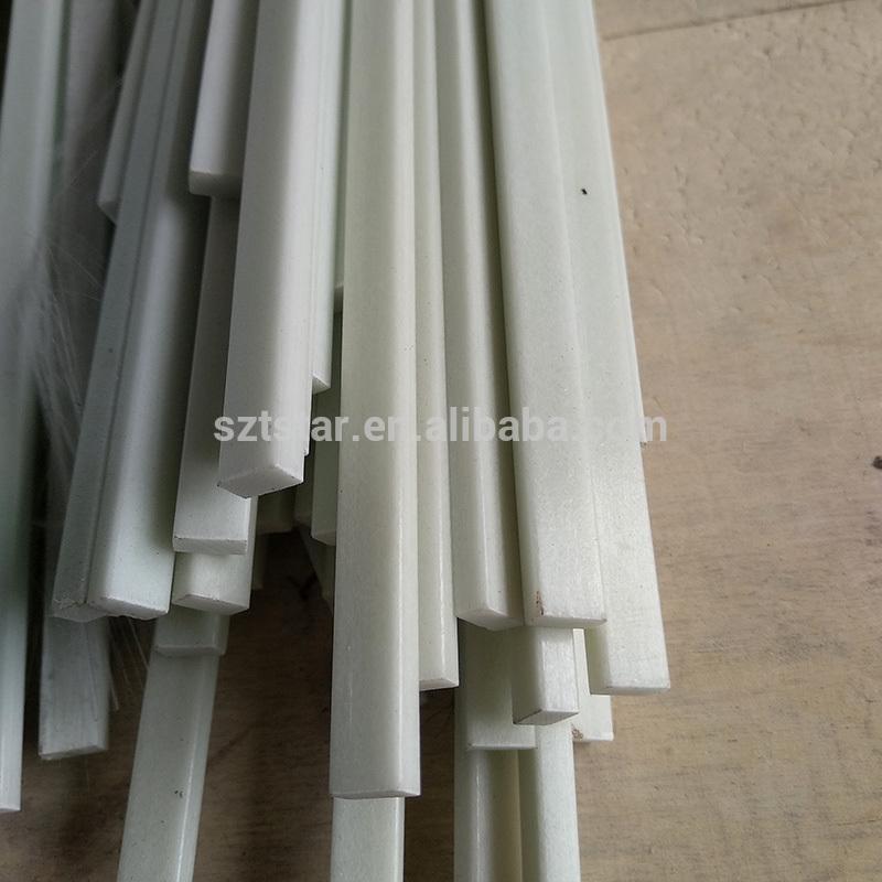 Hot sell flexible FRP/GRP fiberglass strip , Fiberglass Batten/Fiber glass stone bar/FRP ROD
