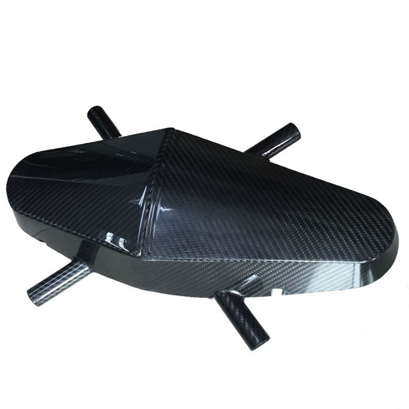 low price Custom-made  carbon fiber profile frame  for auto part and Manned aircraft