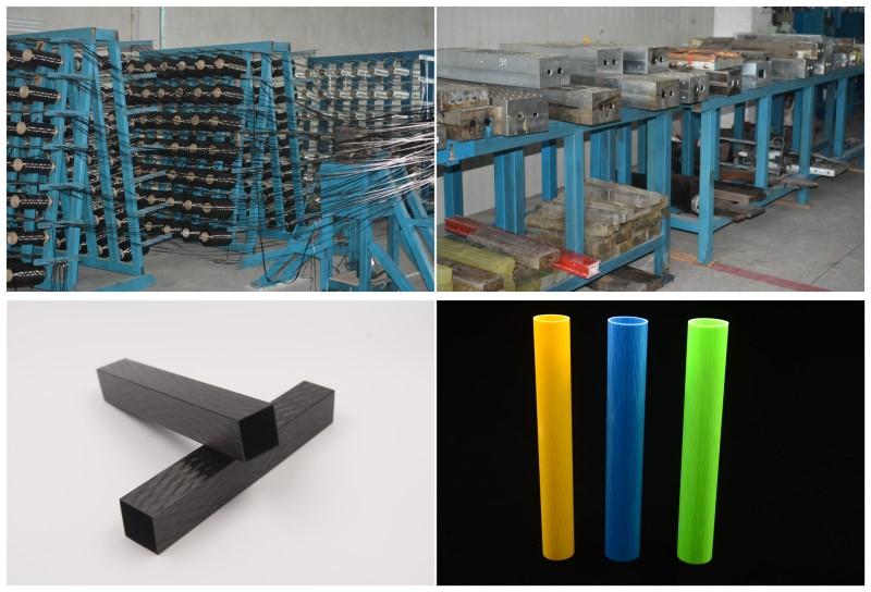 Carbon Fiber Tubes and FIberglass tube